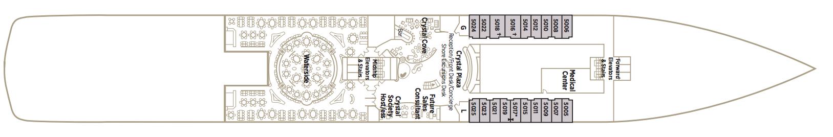 Crystal Symphony Deck Plans Crystal Deck.png