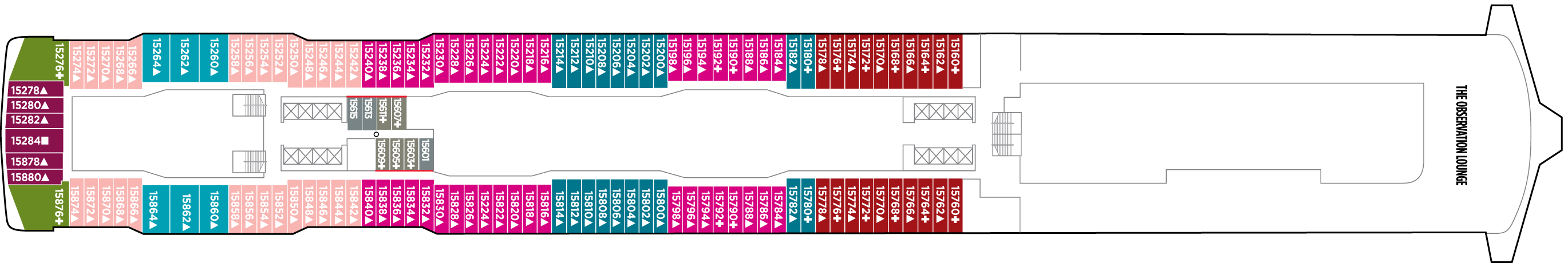 Norwegian Cruise Lines Norwegian Bliss Deck Plans Deck 15.png