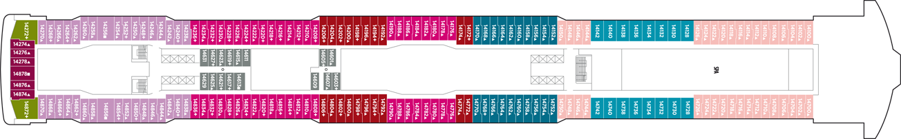 Norwegian Cruise Line Norwegian Breakaway Deck Plans Deck 14.png