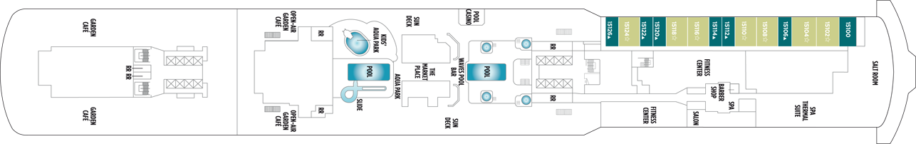Norwegian Cruise Line Norwegian Breakaway Deck Plans Deck 15.png