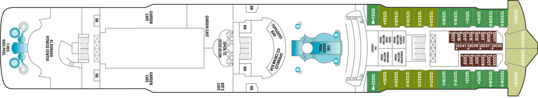 Norwegian Cruise Line Norwegian Dawn Deck Plans Deck 12.png