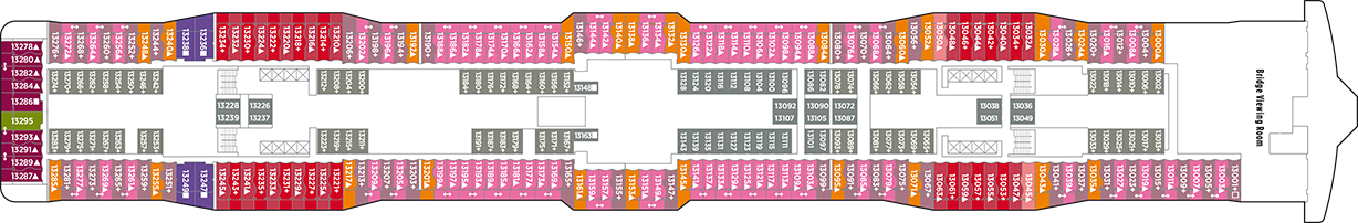 Norwegian Cruise Line Norewegian Epic Deck Plans Deck 13.png