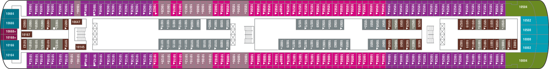 Norwegian Cruise Line Norwegian Jewel Deck Plans Deck 10.png