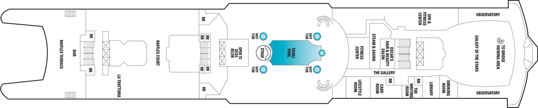 Norwegian Cruise Line Norwegian Spirit Deck Plans Deck 12.png
