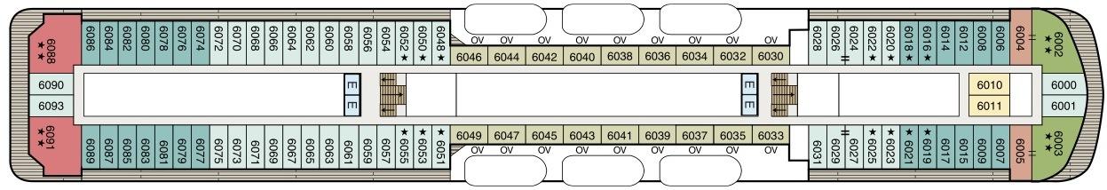Oceania Cruises Regatta Class Deckplans Deck 6.jpg