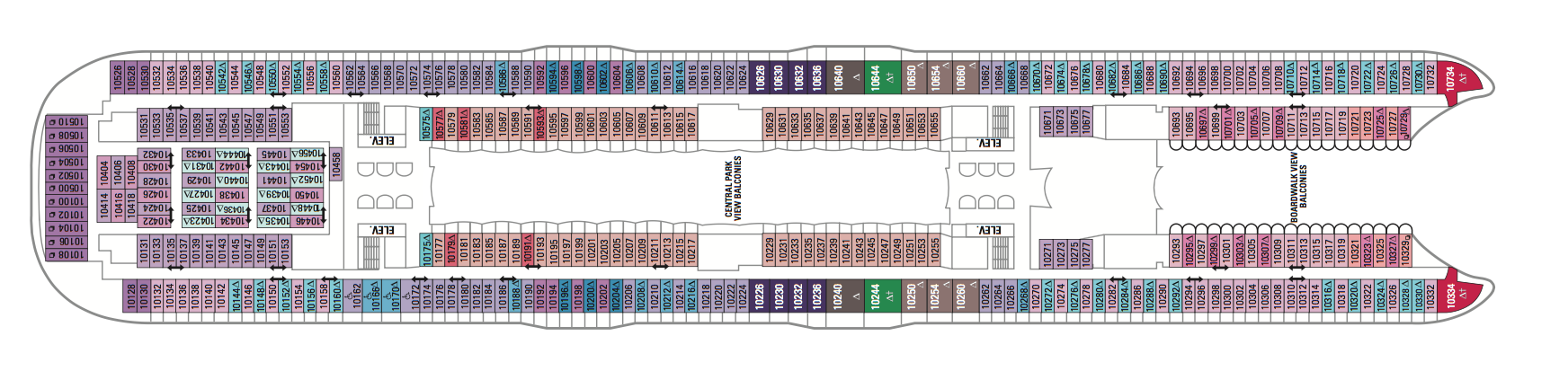 Royal Caribbean International Symphony of the Seas Deck Plans Deck 10.png