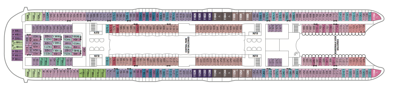 Royal Caribbean International Symphony of the Seas Deck Plans Deck 11.png
