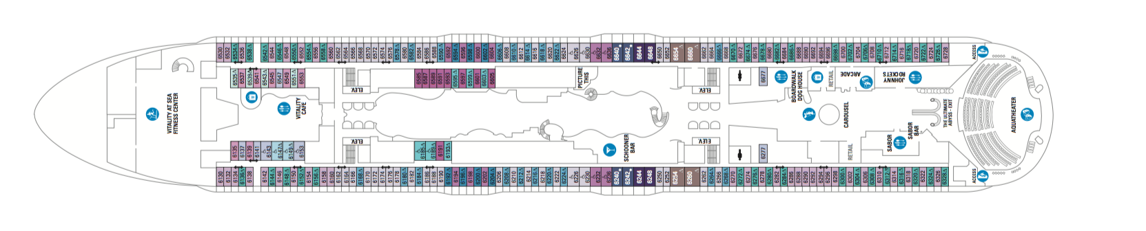 Royal Caribbean International Symphony of the Seas Deck Plans Deck 6.png