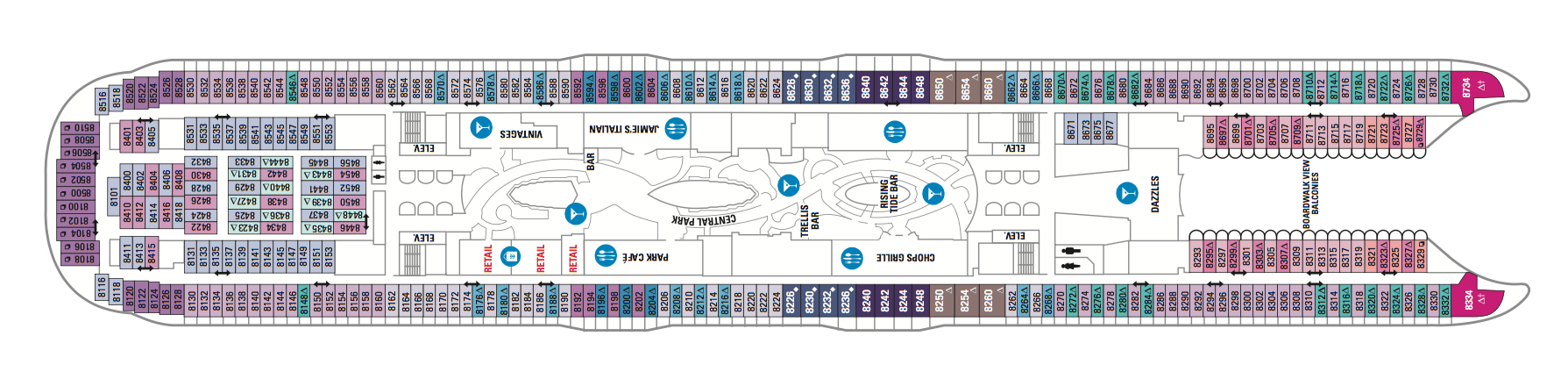 Royal Caribbean International Symphony of the Seas Deck Plans Deck 8.png