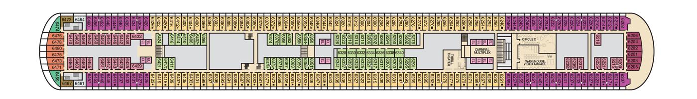 Carnival Cruis Lines Carnival Horizon Deck Plans Deck 6.jpg