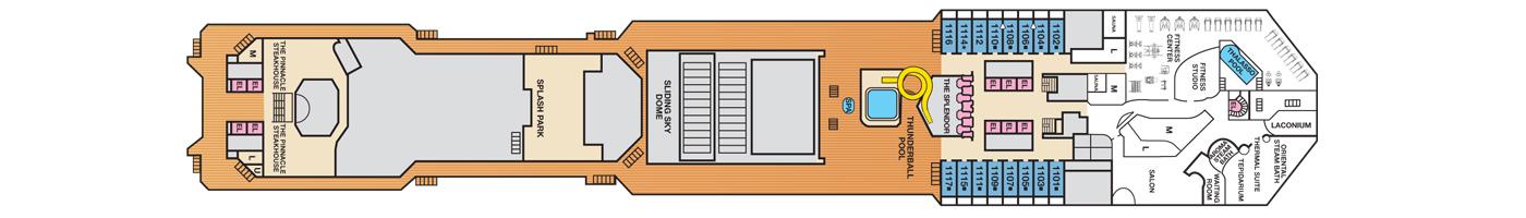 Carnival Cruise Lines Carnival Splendor Deck Plans Deck 11 jpg.jpg