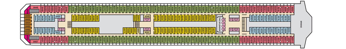 Carnival Cruise Lines Carnival Splendor Deck Plans Deck 8 jpg.jpg