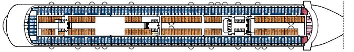 Costa Cruises Costa Diadema Deck Plans Bizantino.png
